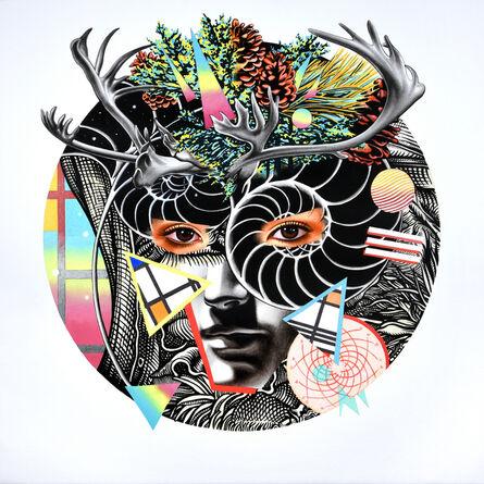 Peter D. Gerakaris, 'Caribou Mask Remix', 2017
