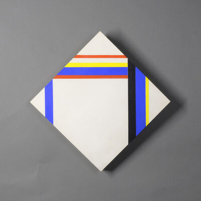 Ilya Bolotowsky, 'Diamond with a Large White Space', 1975