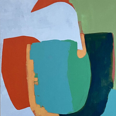 Lynette Haggard, 'Blue Balance', 2020