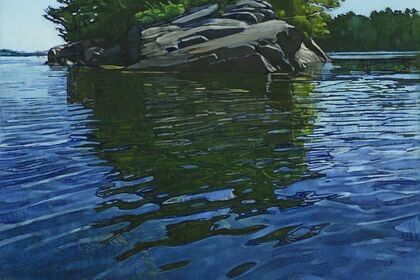 """""""Reflections on Water,"""" Sarah Knock"""