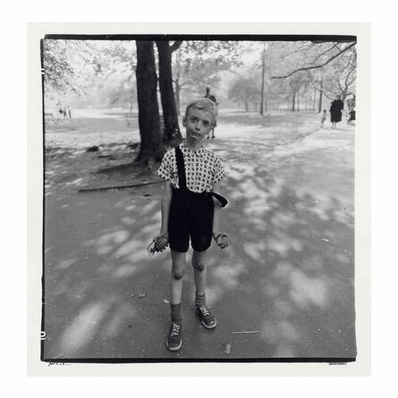 Diane Arbus, 'Child with a toy hand grenade in Central Park, N.Y.C., 1962', 1962