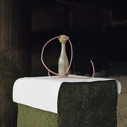 Angela Blažanović, 'Red Wire, Glass Bottle and a Tennis Ball', 2019