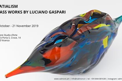 Spatialism | glass works by Luciano Gaspari