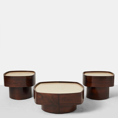 Jorge Zalszupin, 'Rare Suite of Tables', 1960-1969