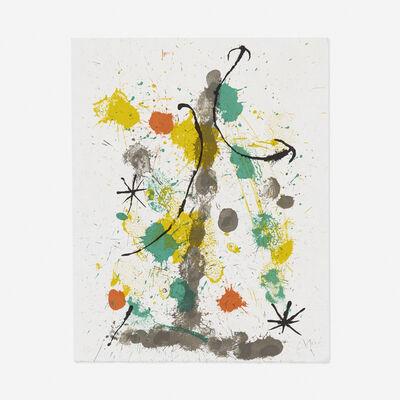 Joan Miró, 'Quelques Fleurs pour des amis', 1964