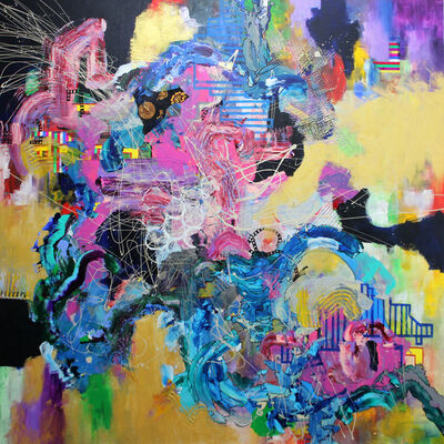 Yuni Lee, 'Rave Fission', 2016