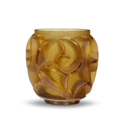 René Lalique, 'Tourbillons Vase No. 973', Circa 1926