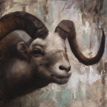 David Gluck, 'Big Horned Sheep', 2021