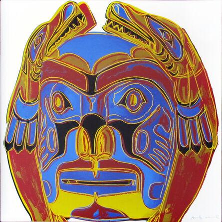 Andy Warhol, 'Cowboys and Indians: Northwest Coast Mask II.380 ', 1986