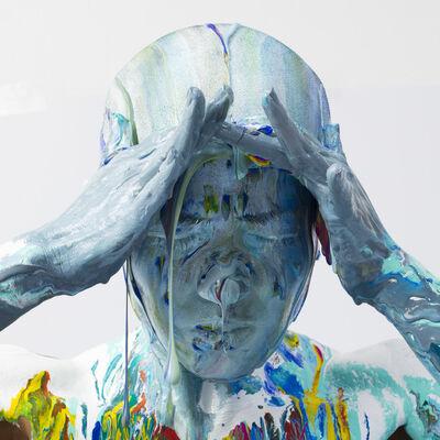 Pierre Fudarylí, 'Secuencia de despintado VI', 2017