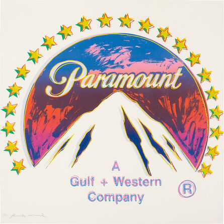 Andy Warhol, 'Paramount, from Ads', 1985