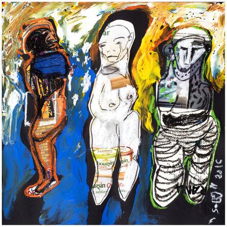 Soly Cissé, 'Untitled 11  (Black Book Project 1)', 2016