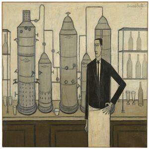 Bernard Buffet, 'Le bar du Liberty's', 1950