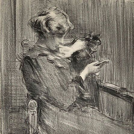 "Albert de Belleroche, '""Gildys""', 1906"