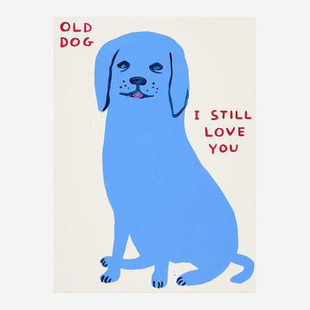 David Shrigley, 'Untitled (Old Dog)', 2021