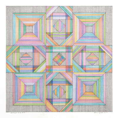 Adrian Esparza, 'Midnight Kite #5', 2017