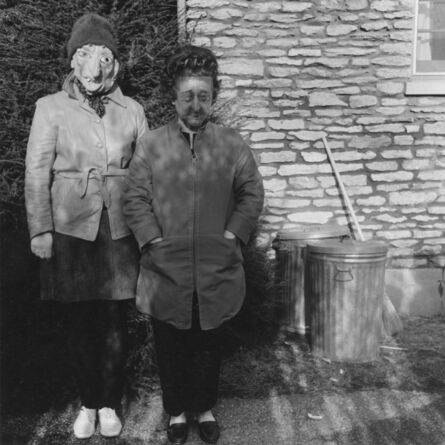 Ralph Eugene Meatyard, 'Lucybelle Crater and polluted photo friend's frozen wife Lucybelle Crater'