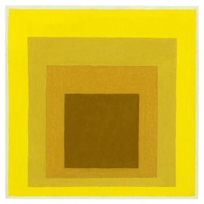 Josef Albers, 'Study for Homage to the Square: Hard, Softer, Soft Edge (Estudio para el homenaje al cuadrado: Hard, Softer, Soft Edge)', 1964