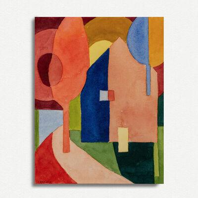 Nancy Cheairs, 'Labyrinth (Study)', 2020