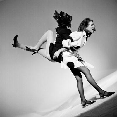 Arthur Elgort, 'Linda Evangelista and Christy Turlington, Italian Vogue', 1989