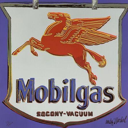 Andy Warhol, 'Mobilgas (Purple)', 1986