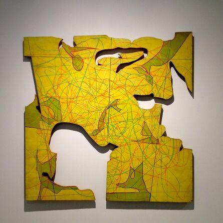 Roy Ascott, 'N-Tropic—Random Map I', 1968