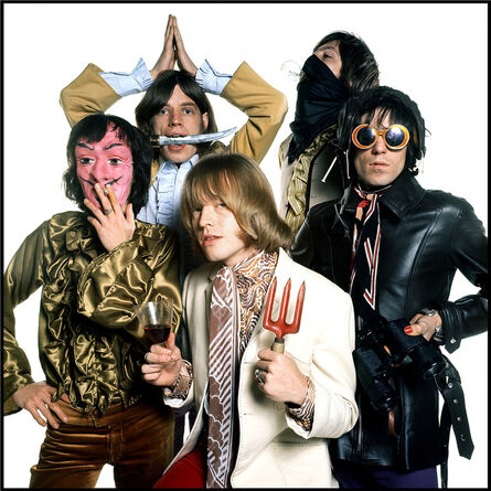 David Bailey, 'The Rolling Stones', 1968