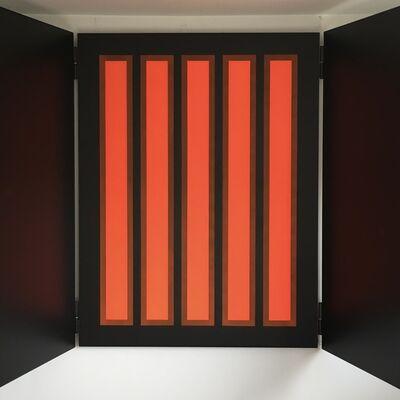 Manuel Faura, 'Altarpiece of red light', 2018