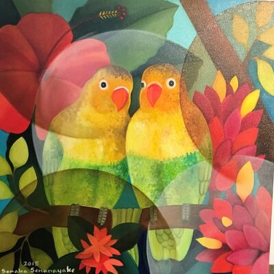 Senaka Senanayake, 'Lovebirds', 2018