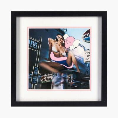 KAWS, 'Untitled (Pink Bendy)', 2003