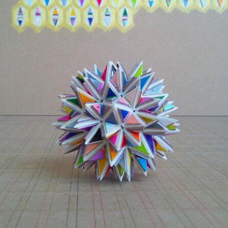 Yohei Imamura, 'stellation of snubdodecahedron', 2014