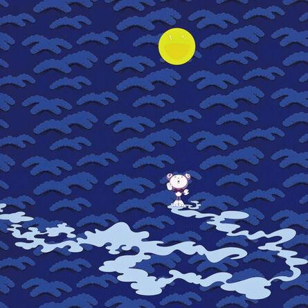 Takashi Murakami, 'Moon', 2001