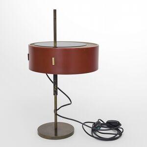 Angelo Ostuni, 'A table lamp  '243' model', 1953
