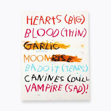 Gino Belassen, 'Vampire (Sad)', 2020