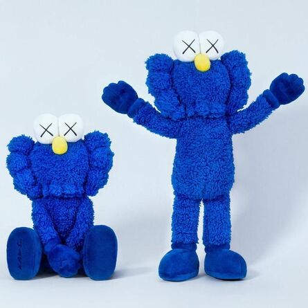 KAWS, 'BFF PLUSH (BLUE)', 2016