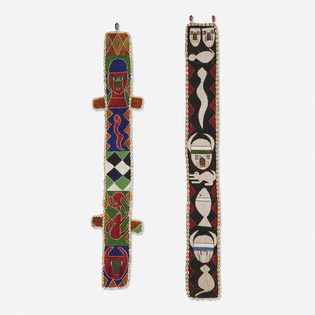 Yoruba artist, 'Diviner's belts, set of two', 20th century