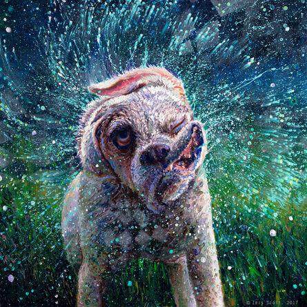 Iris Scott, 'Mandala Effect (Embellished Artist's Proof)', 2018