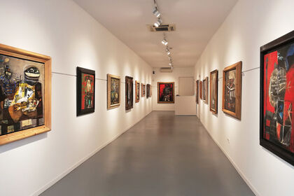 Clavé expressionist. Paintings from the 50s and 60s