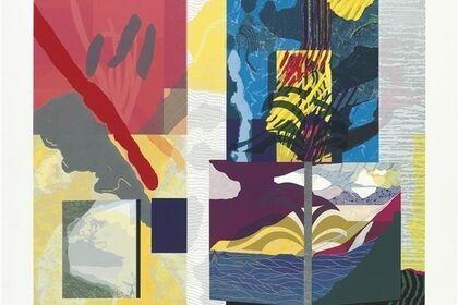 MINTED: Damien Hirst - Alison Saar - Sam Gilliam - Suzanne Caporael - Maser - Beatriz Milhazes - Wolf Kahn - Cory Oberndorfer - Anne Smith - Dan Treado - Rachel Burgess - Lou Stovall - Helen Zughaib - Amy Sillman