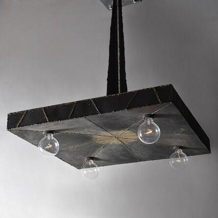 Paul Evans (1931-1987), 'Welded Steel Hanging Light, USA,', 1969