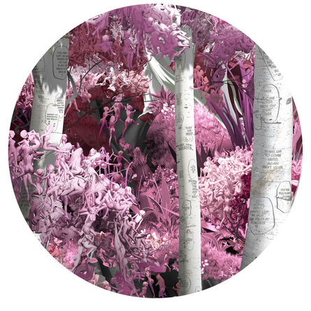 Jessica Lichtenstein, 'Do They Make a Sound Pink 3', 2020