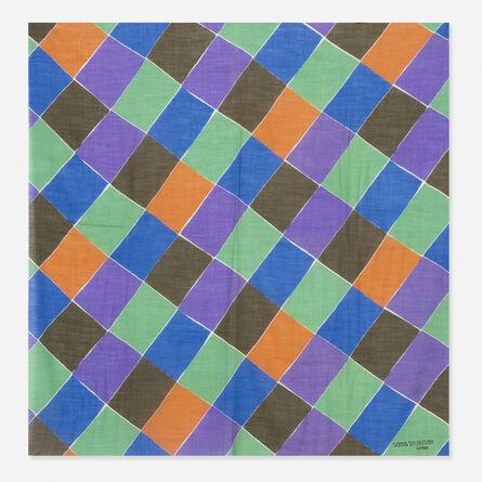 Sonia Delaunay, 'A Damiers shawl', 1920