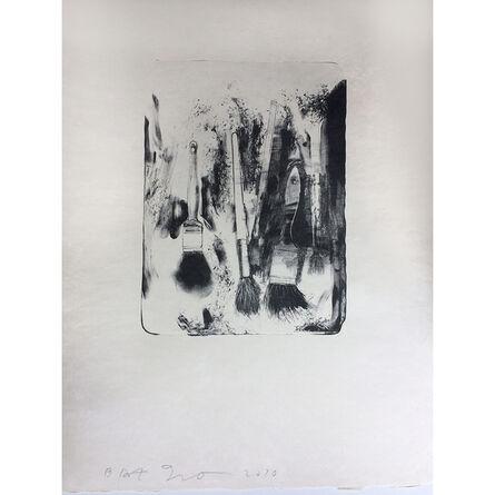 Jim Dine, 'Three Brushes', 2010