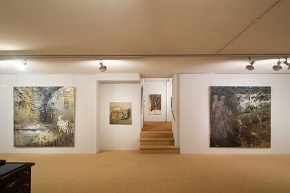 Hommage à Miklos Bokor, peintures et oeuvres sur papier