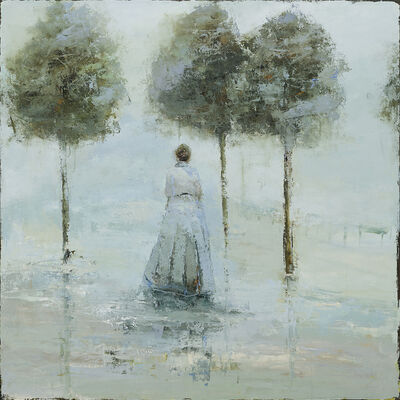 France Jodoin, 'After the Novels, the Teacups and the Skirts that Trail Along the Floor', 2018