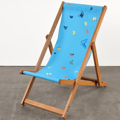 Damien Hirst, 'Deckchair (Blue)', 2008