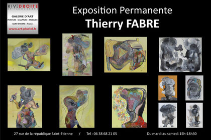 Thierry Fabre Exhibition