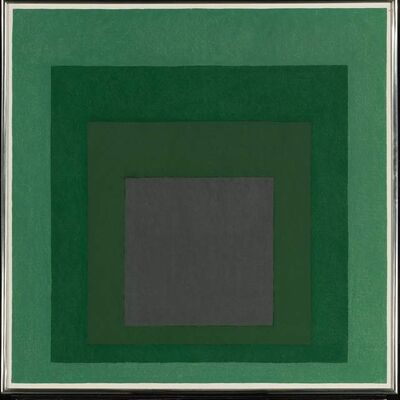 Josef Albers, 'Study for Homage to the square:Absorption', 1967