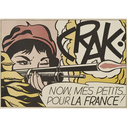 Roy Lichtenstein, 'Crak!', 1963-64