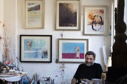 Zahary Kamenov, paintings